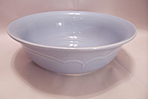 Pfaltzgraff Gazebo-Blue Round Vegetable Bowl (Image1)