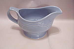Pfaltzgraff Gazebo-Blue Gravy Boat With Under Plate (Image1)