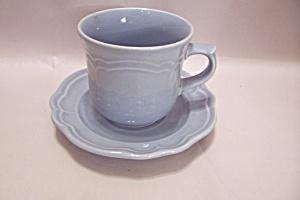 Pfaltzgraff Gazebo-Blue Cup & Saucer Set (Image1)