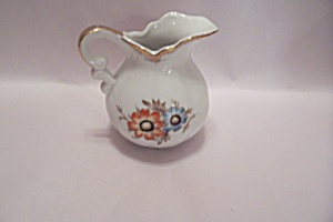Handpainted Decorative Porcelain Small Pitcher (Image1)