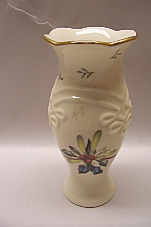Lenox Winter Greetings Handpainted Porcelain Vase (Image1)