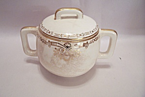 Salem Century Pattern Fine China Sugar With Lid