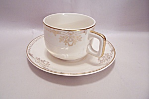 Salem Century Pattern Fine China Cup & Saucer Set