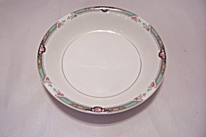 Homer Laughlin Red Rose Pattern  China Coupe Soup Bowl (Image1)