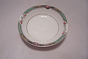 Homer Laughlin Red Rose Pattern Fine China Berry Bowl (Image1)