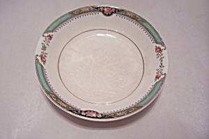 Homer Laughlin Red Rose Pattern Fine China Berry Bowl