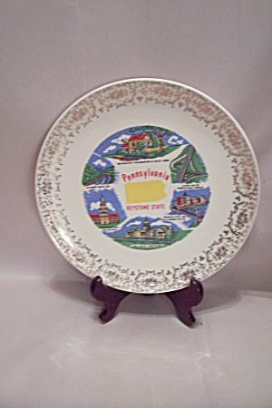 Pennsylvania Souvenir Collector Plate (Image1)