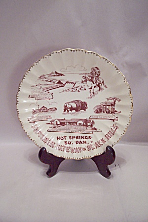Hot Springs, South Dakota Souvenir Collector Plate (Image1)