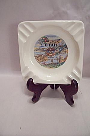 Utah Porcelain Souvenir Ash Tray (Image1)
