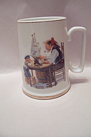Norman Rockwell - For A Good Boy - Porcelain Mug