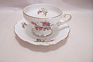 Occupied Japan Hata China Demitasse Cup & Saucer