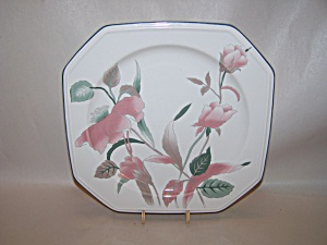 Mikasa silk flowers pattern fine china salad plate mightylinksfo