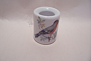 West German Handpainted Porcelain Toothpick Holder (Image1)
