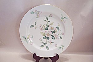 Sango Apple Blossom Pattern Fine China Dinner Plate