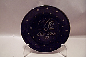 Avon 1989 Sstar Presidents Club Award Plate