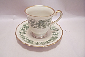 Hohenberg Bavarian China Demitasse Cup & Saucer Set