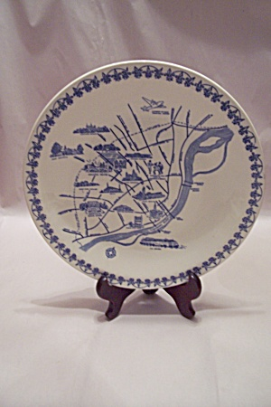 Vernon Kilns St. Louis Missouri Collector Plate
