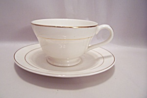 Knowles Tradition Pattern Fine China Cup & Saucer Set