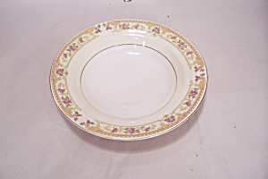 Crown Croyden Pattern Fine China Coupe Soup Bowl