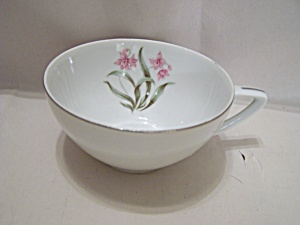 Pink Orchid China Teacup