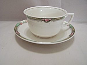 Homer Laughlin China Cup & Saucer Set