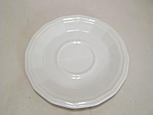 Homer Laughlin White China 16-Sided Saucer (Image1)