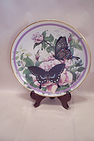 Spicebush Swallowtail Butterfly Collector Plate (Image1)