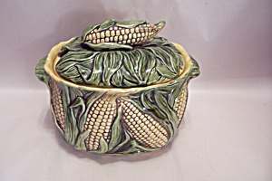 Porcelain Corn Pattern Soup Tureen With Lid (Image1)