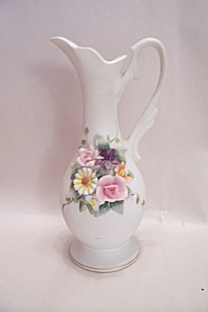 Lefton Fine China Decorative Pitcher