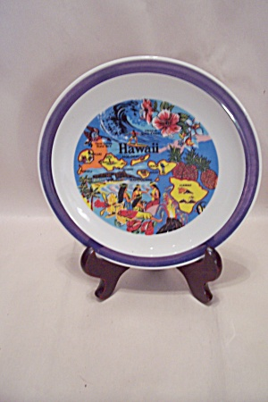 Hawaii Souvenir Collector Plate