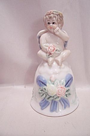 Porcelain Cherub Collector Bell (Image1)