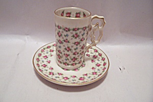 Bentwood Royal China Demitasse Cup & Saucer Set