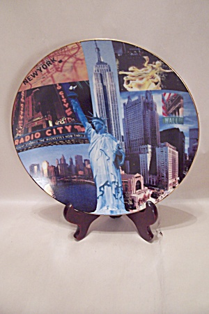 Farm Bureau Insurance Nyc Souvenir Collector Plate