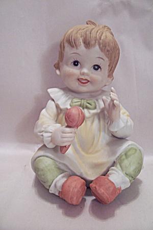 Porcelain Little Girl Figurine (Image1)