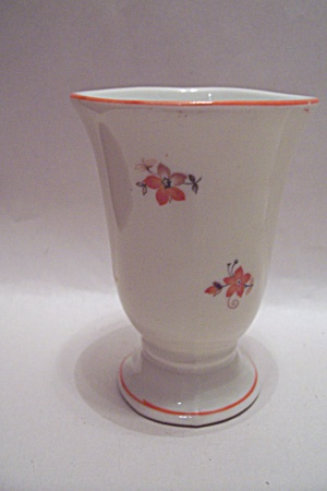 German - Dulsdorf Pedestal Porcelain Toothpick Holder (Image1)