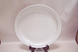 Mainstays Home Classic White China Dinner Plate