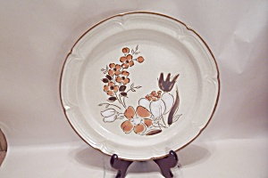 Baroque Hand Painted Autumn Fair Stoneware Dinner Plate