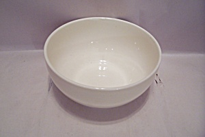 Mccoy White China Bowl