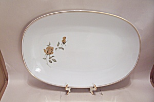 Noritake Prima Donna Pattern Fine Bone China Platter