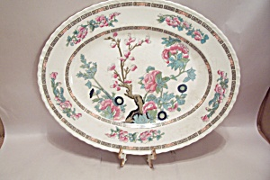 Myott Indian Tree Pattern Fine China Oval Platter