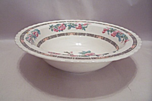 Myott Indian Tree Pattern Fine China Vegetable Bowl