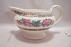 Myott Indian Tree Pattern Fine China Creamer
