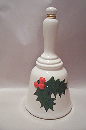 Porcelain Collectible Christmas Themed Bell