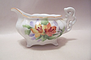Occupied Japan Miniature Handpainted Porcelain Pitcher (Image1)