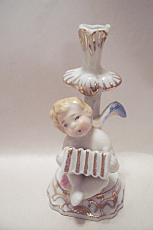 Occupied Japan Porcelain Angel Figurine