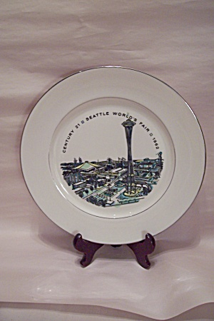 Seattle 1962 World's Fair Souvenir Collector Plate