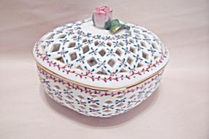 Royal Danube Porcelain Lidded Bowl