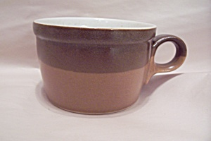 Mikasa Ben Seibel Design Two Tone Brown Cup