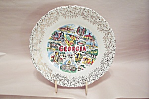 Georgia Souvenir Collector Plate
