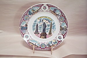 New York City Souvenir Collector Plate